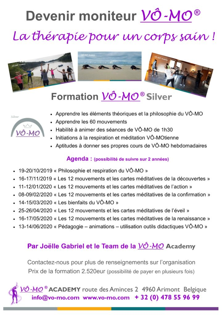 Formation VÔ-MO Silver - module 6 @ VÔ-MO Academy