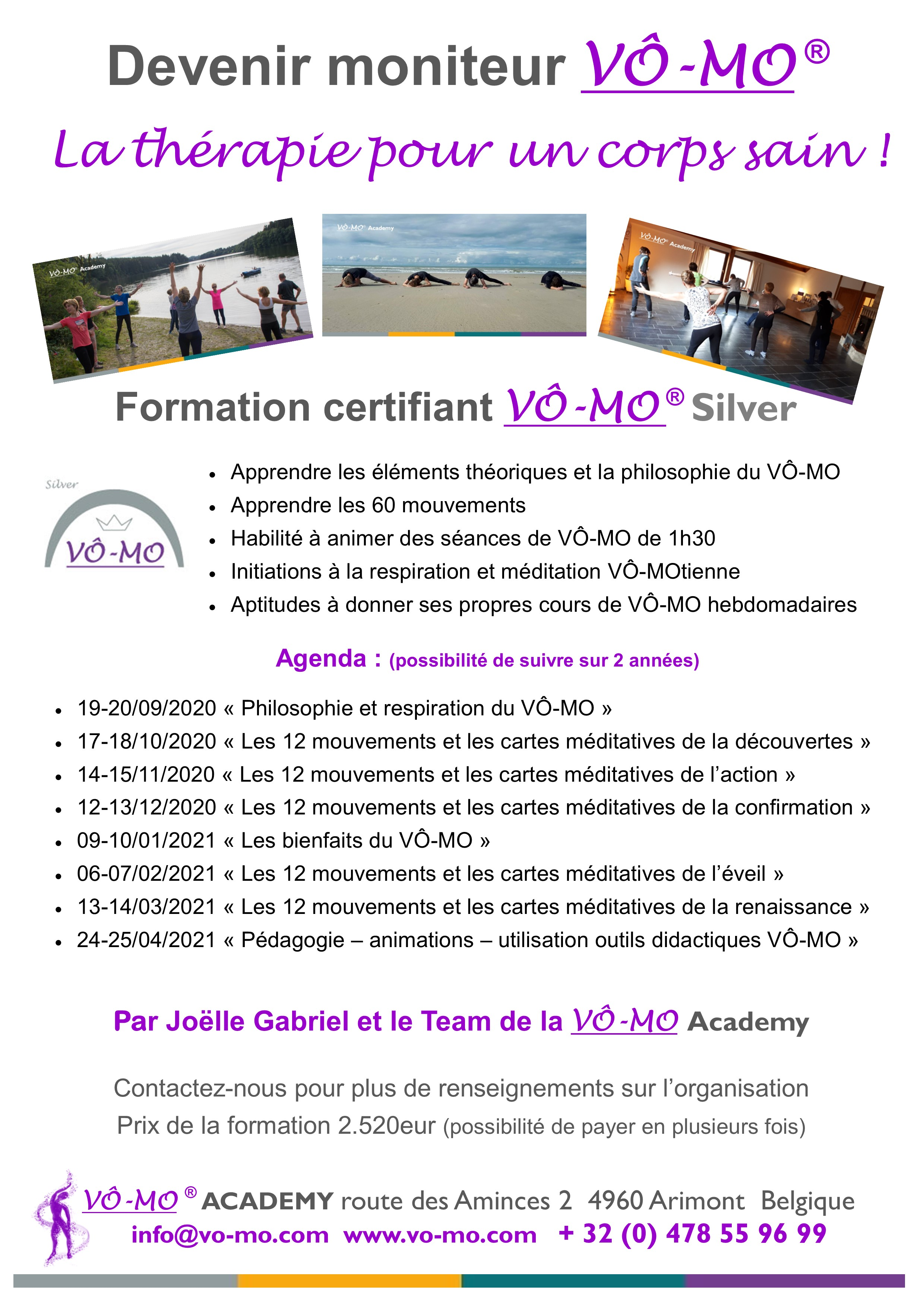 Formation VÔ-MO Silver - module 1 @ VÔ-MO Academy