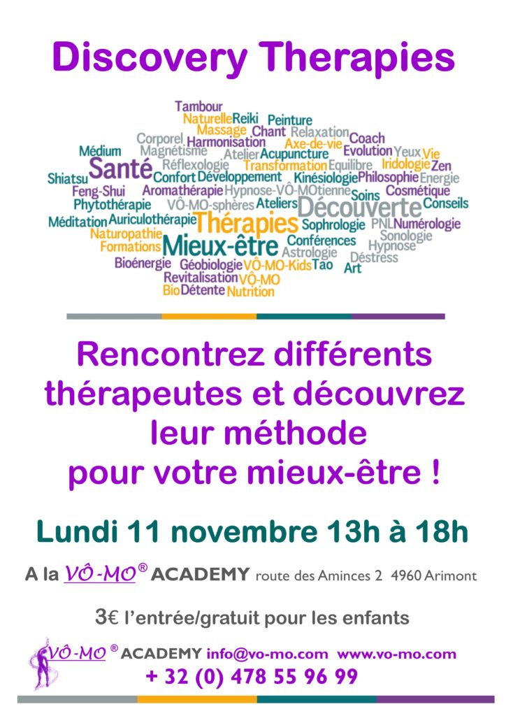Discovery Therapies @ VÔ-MO Academy