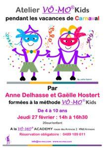 Atelier VÔ-MO Kids - Carnaval @ VÔ-MO Academy