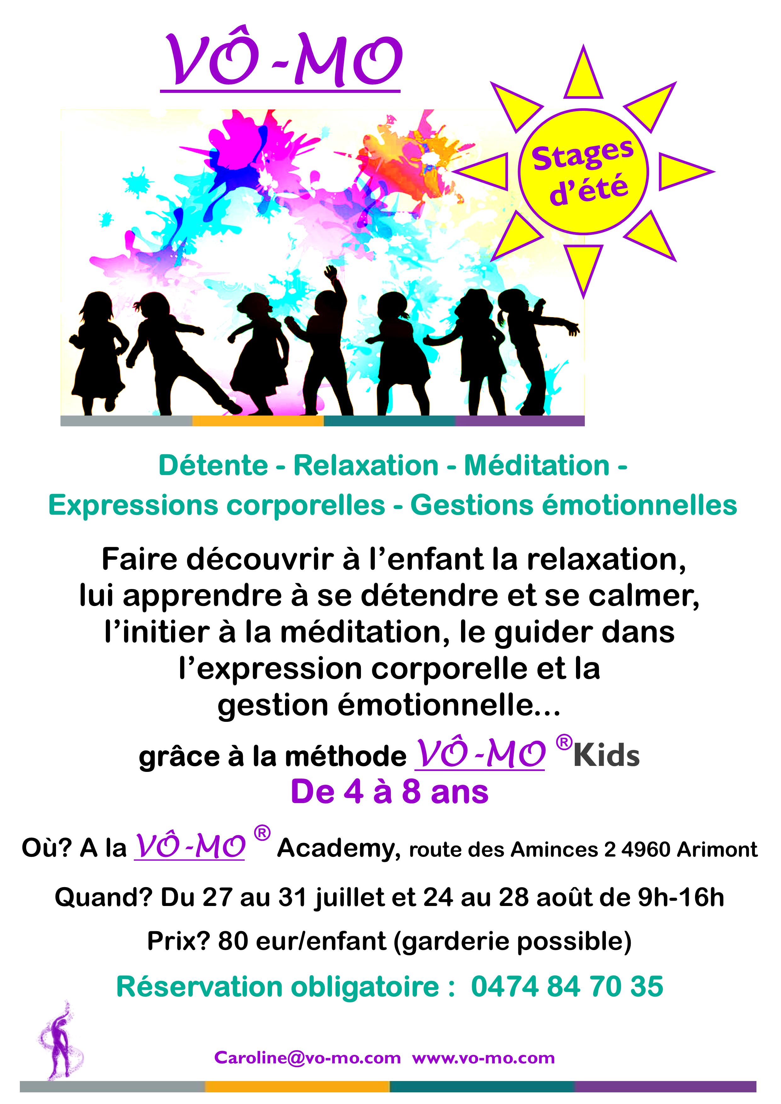 Stage VÔ-MO Kids d'été @ VÔ-MO Academy
