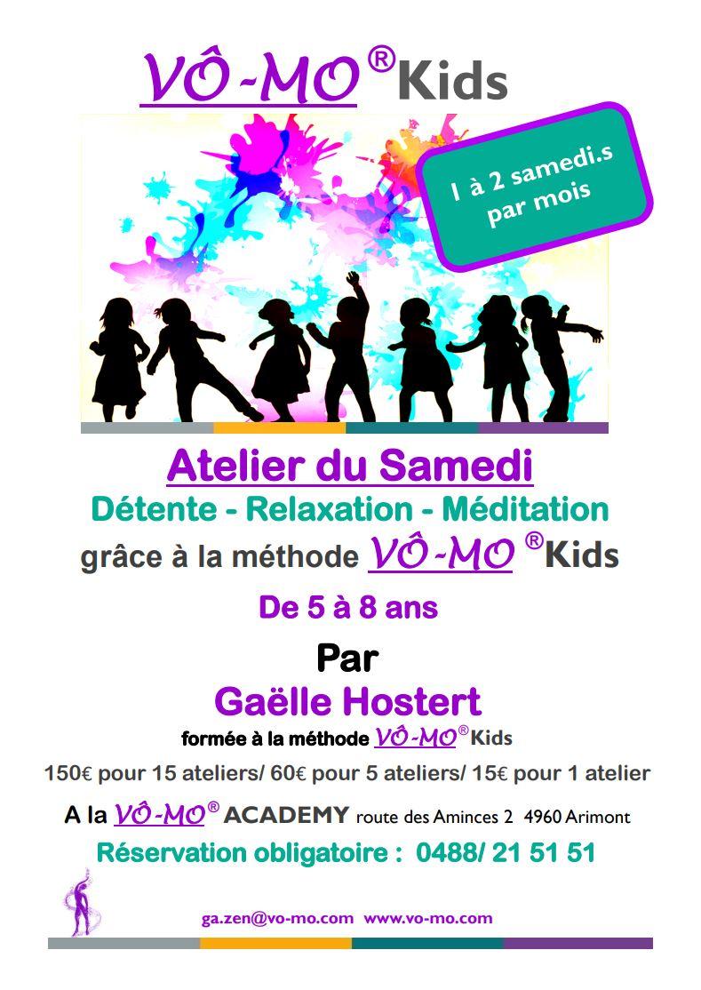 VÔ-MO Kids - Atelier du Samedi @ VÔ-MO Academy