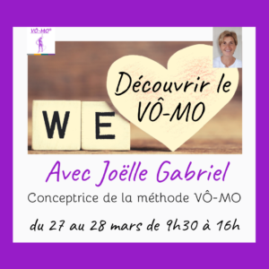 Vivre le VÔ-MO, WE découverte @ VÔ-MO Academy